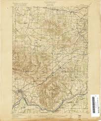 Maps Bend Oregon by Oregon County Map