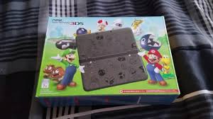 nintendo 3ds xl with super mario 3d land amazon black friday new 3ds super mario black edition black friday unboxing youtube