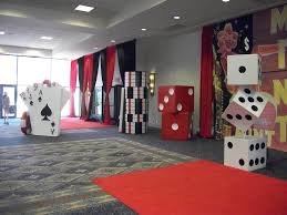 interior design view casino night party theme decorations home