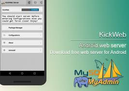 tutorial php web android web server download free web server for android