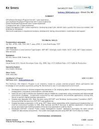 java programmer resume sample ideas collection cover letter for