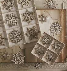 delicate wooden snowflakes santa lucia laser cutting and birch