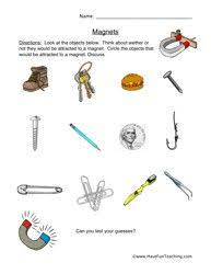 magnets powerpoint types of magnets and sentences