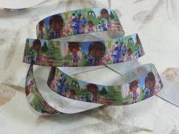 doc mcstuffins ribbon doc mcstuffins grosgrain ribbon cross stitch island
