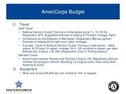 Kansas Budget Travel images Kansas americorps request for proposals ppt download jpg