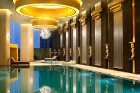 westin guangzhou hotel indoor swimming pool pools pinterest