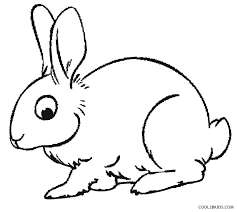 printable rabbit coloring pages kids cool2bkids