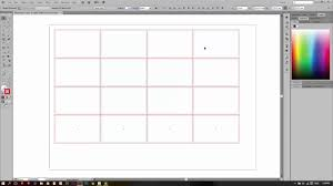 tutorial illustrator multiple name card print layout youtube