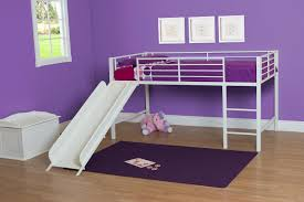 the furniture white kids bedroom set with loft bed in dhp junior loft bed with slide and princess castle curtains set