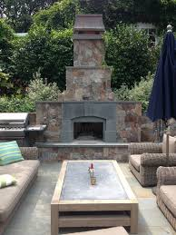 outdoor fireplaces sbi materials