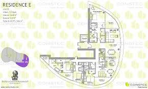 Ritz Carlton Floor Plans by The Ritz Carlton Residences Floor Plans