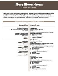 sales resume templates 49 creative resume templates unique non traditional designs