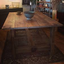Barnwood Dining Room Tables by Reclaimed Barnwood Dining Table Made In Buffalo Ny Rustic