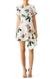 asymmetrical dress garden floral asymmetrical dress by stylestalker for 30 35