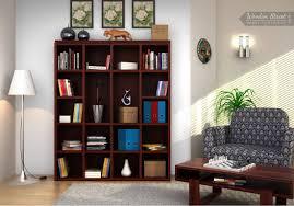 bookshelf mahogany finish