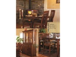Mission Style Dining Room Set by Oakwood Industries Casual Dining Mission Dining Table Mueller