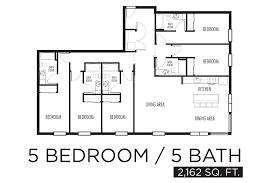 5 Bedroom Floor Plan 5 Bedroom Aparment Floor Plans Home Design Ideas
