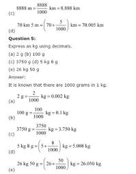 ncert solutions for class 6 maths decimals exercise 8 4