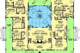 house plan with courtyard 18 mediterranean courtyard u shaped house plans home design 89