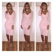 dress with choker necklace images Dress steal her look bodycon dress choker dress choker jpg