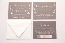 bridesmaid invitation card will you be my bridesmaid of honor matron of honor