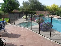 Backyard Pool Fence Ideas Removable Pool Fence Ideas Peiranos Fences Simple And Safety