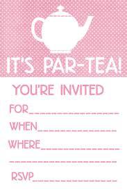 kitchen tea invites ideas tea invitation template net greetings email custom
