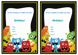 art birthday invitations monsters university birthday invitations u2013 birthday printable