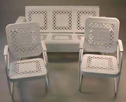 Antique Metal Patio Chairs Vintage Metal Furniture Vintage Porch Furniture