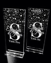 acrylic table numbers wedding engraved acrylic table numbers daisies table numbers pinterest