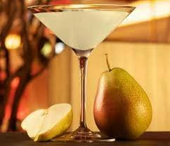 martini ginger pear with pizzazz cocktails made with spiced pear vodka