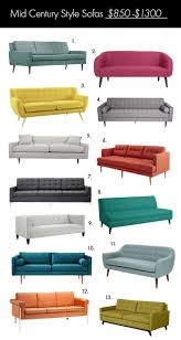 Cheap Mid Century Modern Furniture Best 20 Mid Century Couch Ideas On Pinterest Mid Century Modern