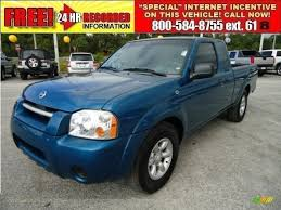 nissan frontier xe king cab 2004 nissan frontier xe king cab in electric blue metallic