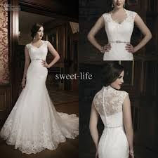wedding dress wholesalers 2014 new style high neck mermaid wedding dresses bridal gowns