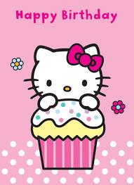 hellokitty cards happy birthday kitty card