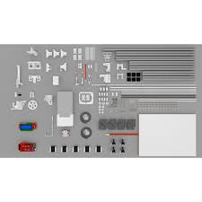 scalar xl reprap 3d printer kit large print volume 400x300mm