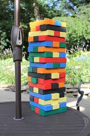 how to make a giant jenga game a concord carpenter