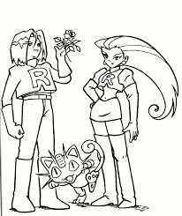 pokemon coloring pages misty ash misty coloring pages