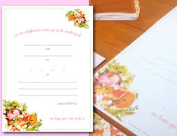 Wedding Booklet Templates Wedding Invitation Templates That Are Cute And Easy To Make