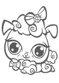 littlest pet shop cat coloring pages inside lps creativemove me