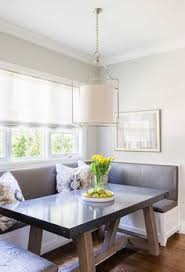 breakfast nook design banquette banquette seating blue cushion
