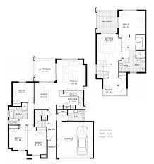 Double Story House Floor Plans Modern Double Story House Designs The Douglas Double Storey