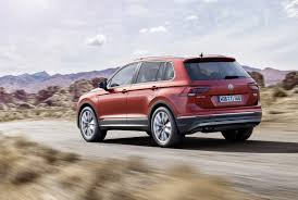 volkswagen touareg 2016 2016 volkswagen tiguan launched with only two engines first specs