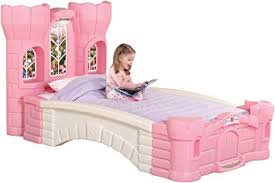 Girls Twin Princess Bed by Amazon Com Step2 Princess Palace Twin Bed For Girls Kids