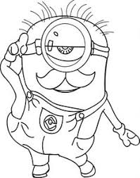 cool minions coloring pages check http wecoloringpage