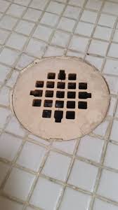 Bathroom Shower Drain Covers How Do I Remove This Plastic Shower Drain Cover Home