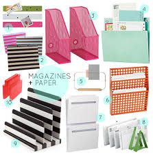 Office Organization Ideas 30 Great Home Office Organizing Tools Via Design Sponge Sexy