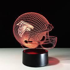 Atlanta Falcons Home Decor by Atlanta Falcons 3d Optical Illusion Lamp U2013 3d Optical Lamp
