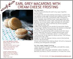 earl grey macarons with cream cheese frosting whisk u0026 knife