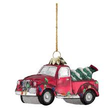 truck christmas ornaments rainforest islands ferry